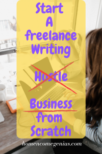 Create your own freelance writing business from scratch