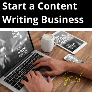 How to start a freelance writing business from home