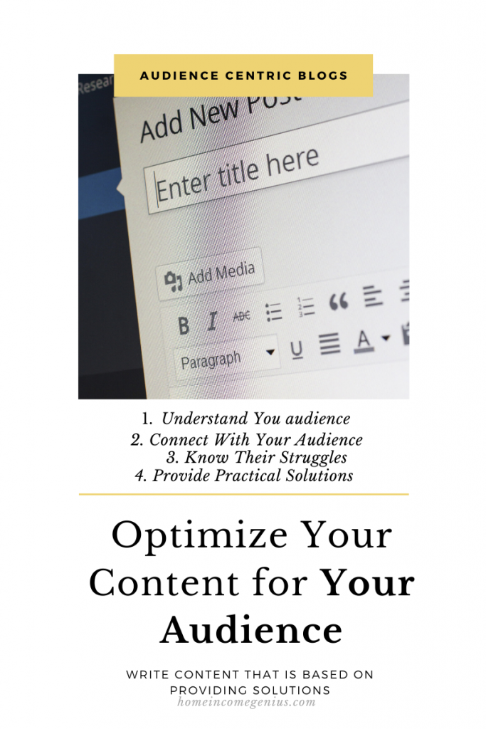 How to Optimize Content for Your Audience: Blogging Business