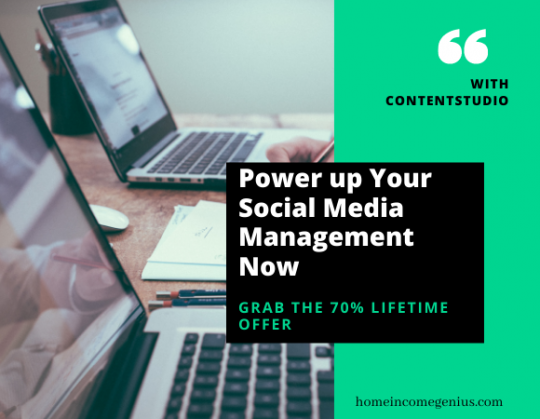 ContentStudio software is a social media automation tool that will help you develop solid content marketing for your business