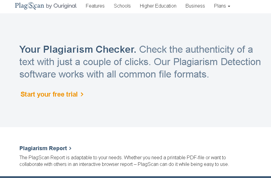 PlagScan Plagiarism Checker: Best overall plagiarism checker for bloggers