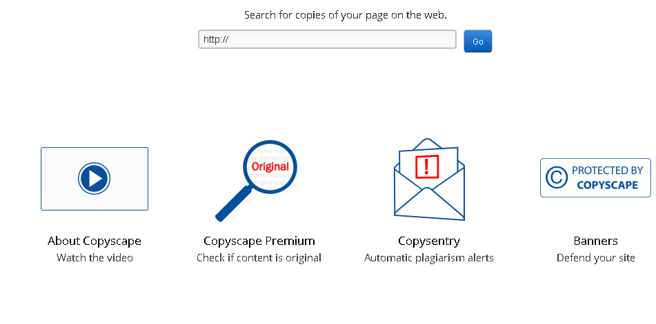 CopyScape plagiarism checker is the best overall plagiarism software for bloggers and freelancers