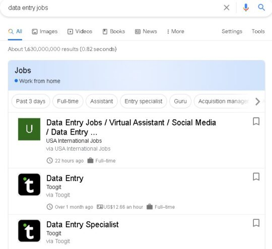 data entry jobs are legit online jobs for college students as they don't need any experience