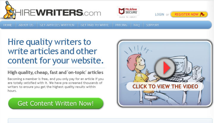 Make extra money online as a college student through freelance writing jobs from HireWriters Company