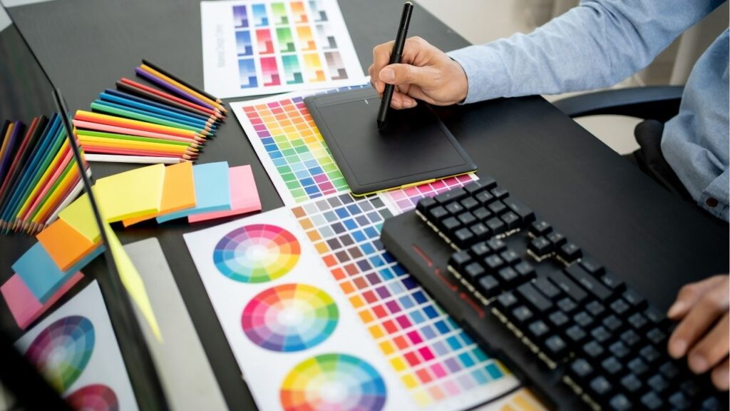 Freelance graphic design jobs are great summer jobs for college students