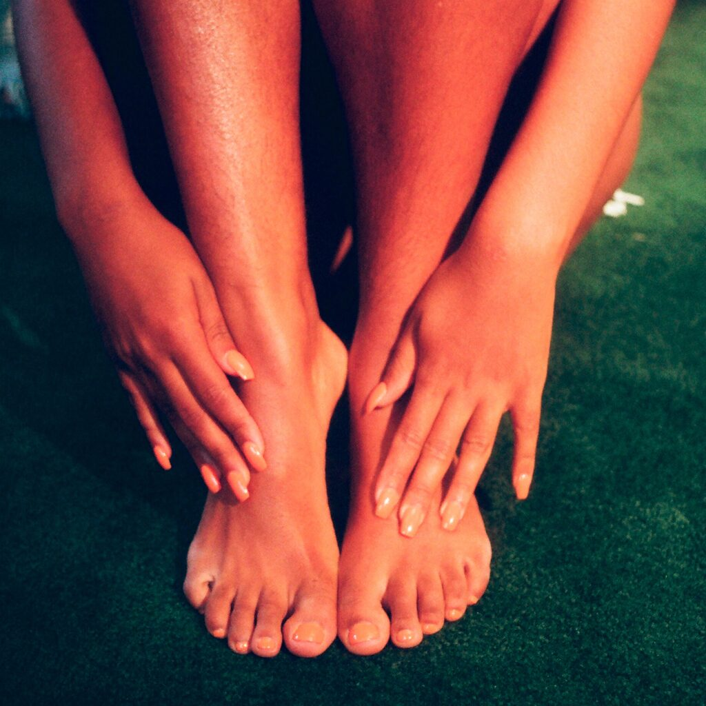 Different poses can help you sell your feet pics more