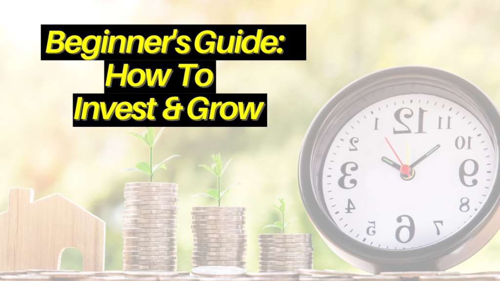 A beginner's guide on how to invest and grow your money
